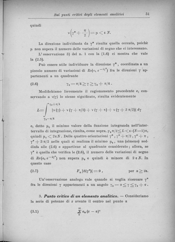 Index Of Userscentenarioricci51 1954 Sui Punti Critici Degli